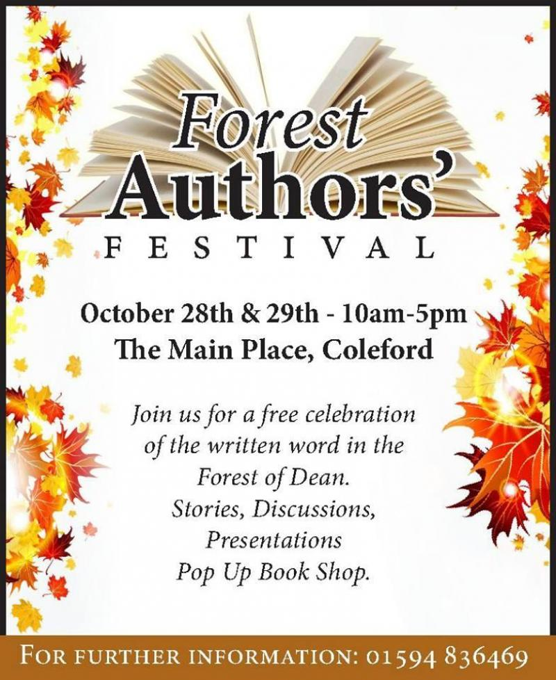 Forest Authors' Festival (Friday and Saturday)