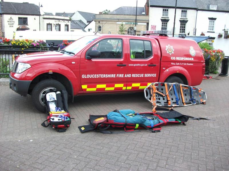Emergency Services Showcase and Coleford Fire Station Open day