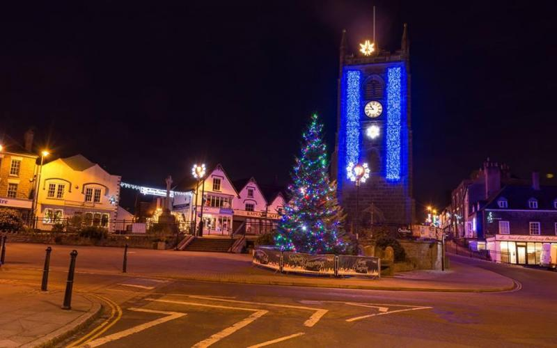Coleford Christmas Lights Switch On